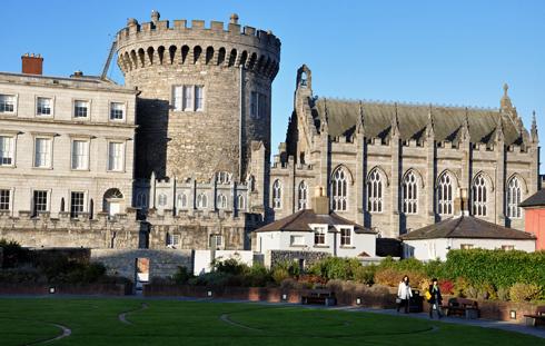 Sisi's son Rudolf attended a ball at Dublin Castle