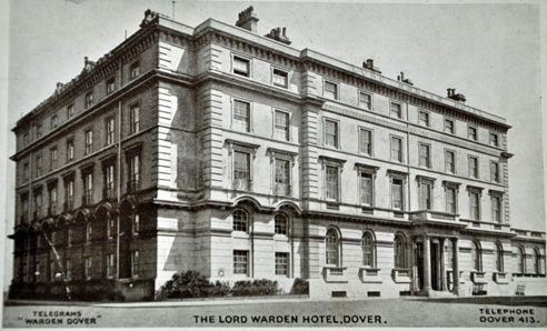 Lord Warden Hotel. Dover Kent where Sisi often stopped for meals.