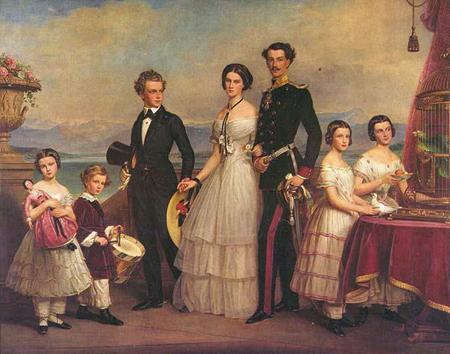 Empress Elisabeth of Austria's siblings