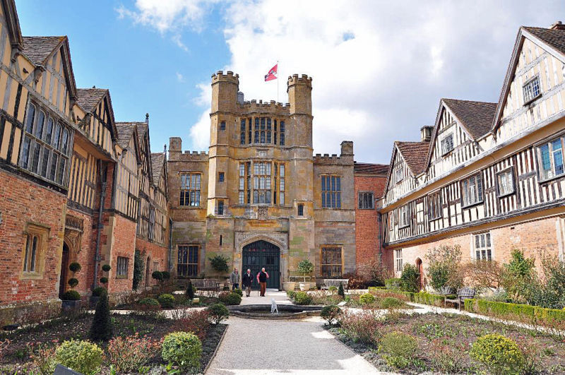 Coughton Court, the home of Mary THrockmortom. She was the governess to Marie Valerie, the youngest daughter of Elisabeth Empress of Austria
