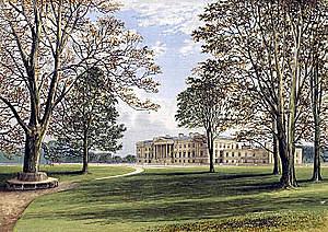Hamilton Palace in 1880