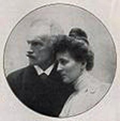 Duke Carl Theodore (Sisi's favourite brother) in Bavaria with his wife Maria Josepha