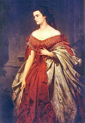 Duchess Helene in Bavaria. Sisi's older sister