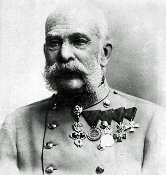 Emperor Franz Josef in 1915