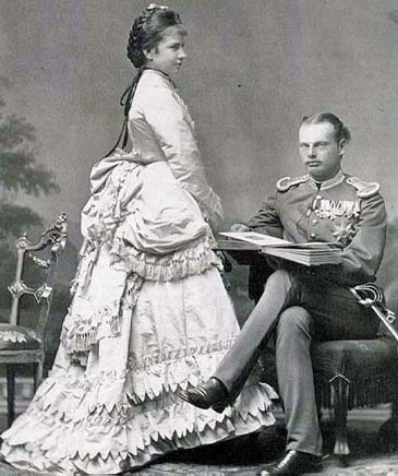 Archduke Gisela of Austria and her husband Leopold of Bavaria