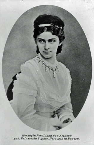 Duchess Sophie in BAvaria. Sisi's sister