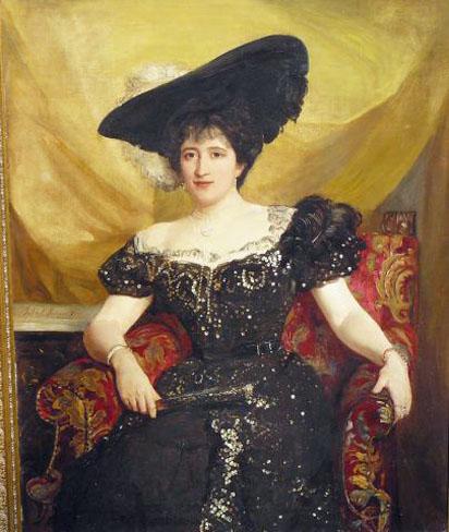 Jenny Jerome, mother of Winston Chuchill