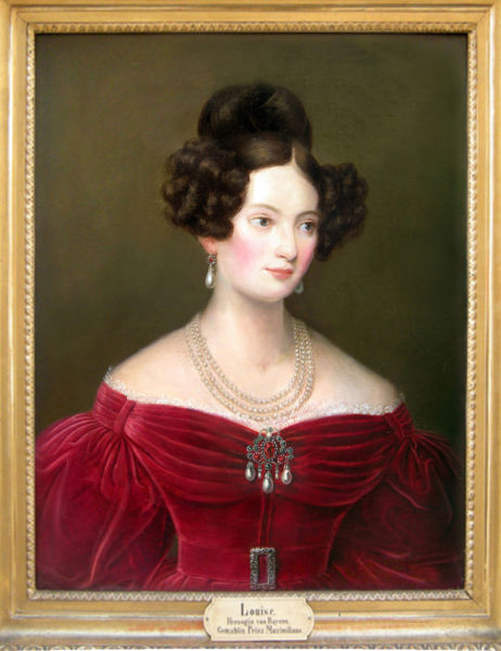Duchess Ludovica in Bavaria - Sisi's Mother