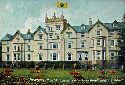 Newlyn's Hotel Bournemoth where Sisi and Archduchess Marie Valerie stayed