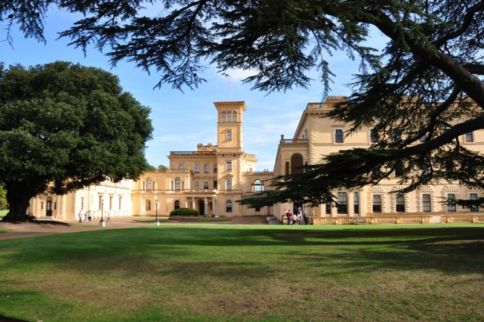Osborne House, Isle of Wight where Sisi visited Queen Victoria