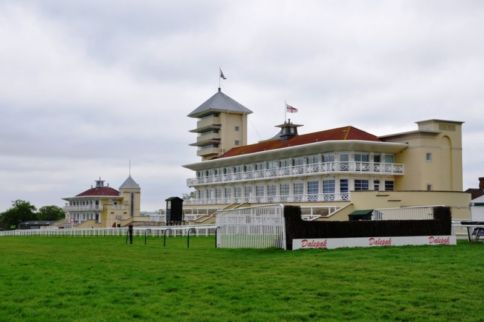 Empress Elisabeth Stand, Towcester Race Course, Northamptonshire named after sisi