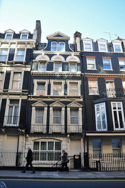 Bay Middleton's Apartment at 27 Half Moon Street, London, W1J N where Sisi met up with him