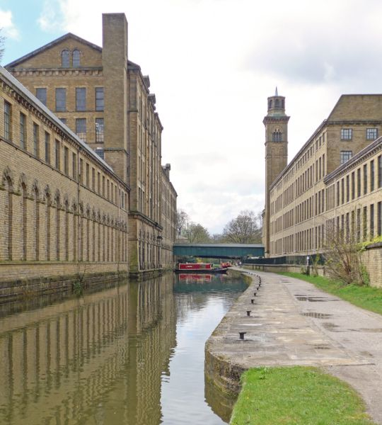 Saltaire MIll originally by Sir Titus Salt visited by Crown Prince Rudolf
