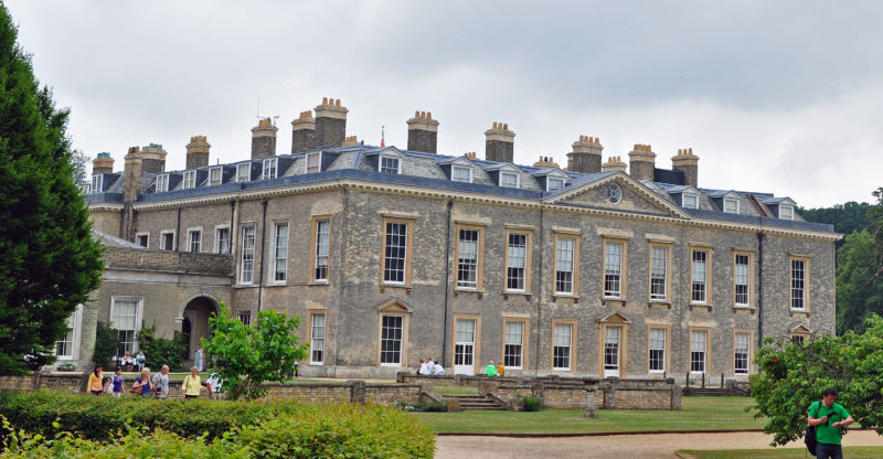 Althorp House, the home of the 5th EArl Spencer and the Childhood home of Diana, Princess of Wales