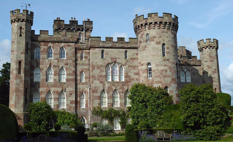 Cholmondeley Castle visited by Empress Sisi of Austria