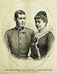 Count August von Bellegarde and his first wife Henriëtte Larisch von Moennich